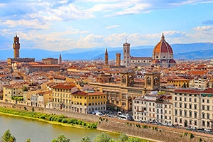 Florence's Renaissance art is a highlight of Nawas' Italy Pilgrimages