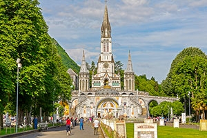 On your Pilgrimage visit Lourdes where Mary appeared