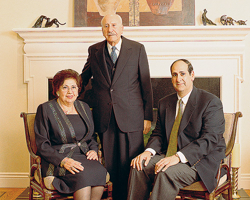 Olga Nawas, Yousef Nawas and George Khoury
