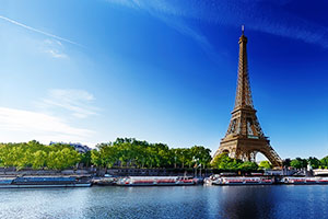 Visit Paris and view the Eiffel Tour on your pilgrimage tour