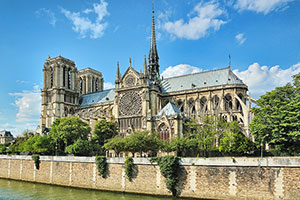 Visit Notre Dame Cathedral on your Shrines of France Pilgrimage