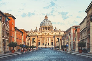 St. Peter's Basilica is a highlight of Rome Pilgrimages