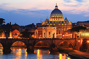 St. Peters and the Vatican are highlights of a pilgrimage to Italy
