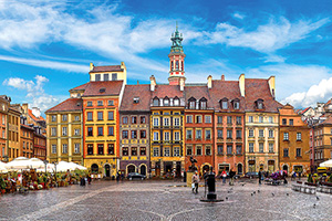 Warsaw, Poland is one of the highlights of Oberammergau 2020 11 Days Best of Poland & Prague tour
