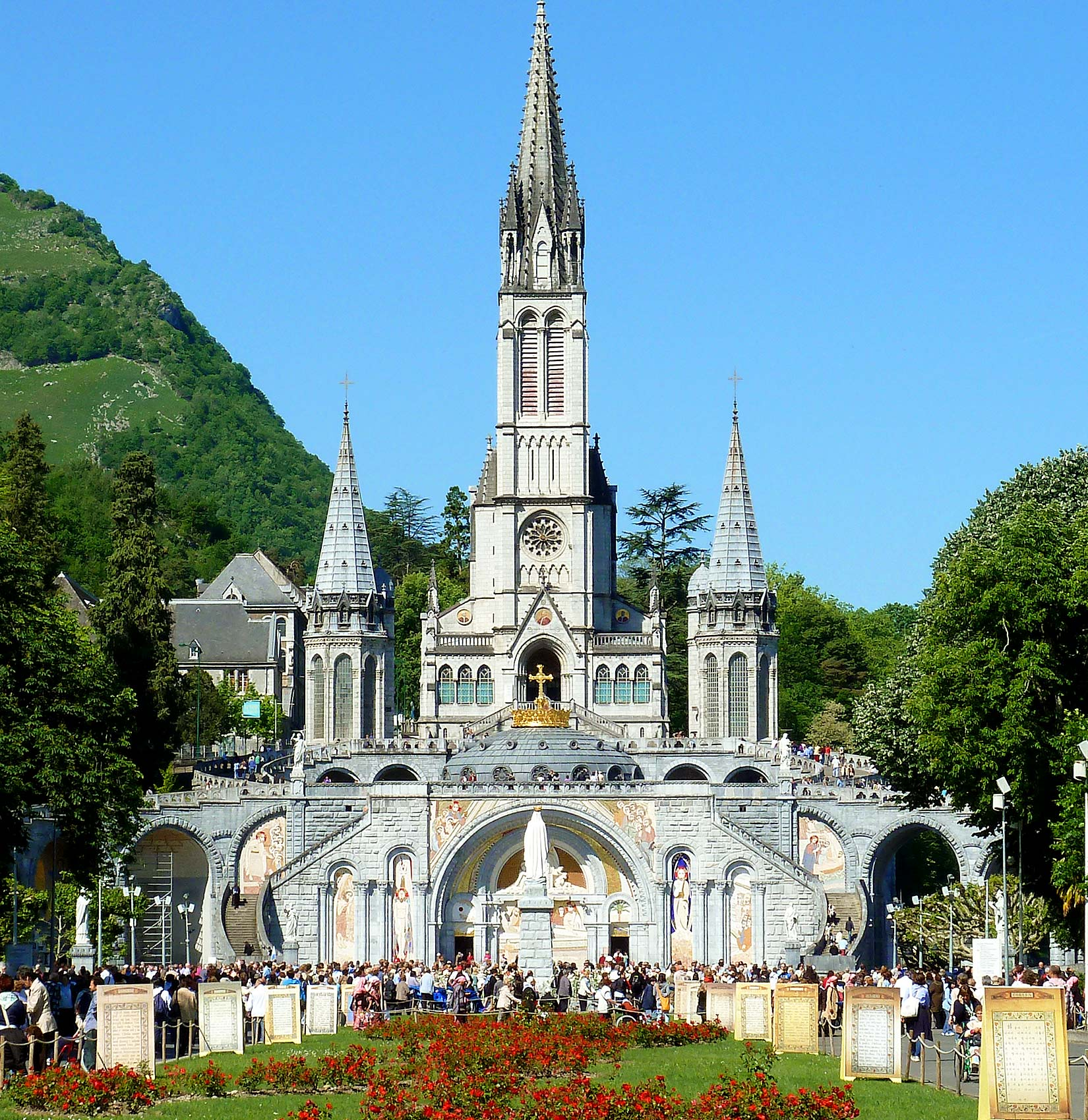 Lourdes and Fatima Marian Shrine Pilgrimages are some of Nawas' most popular tours