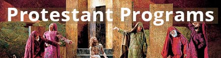 Protestant Passion Play 2022 programs