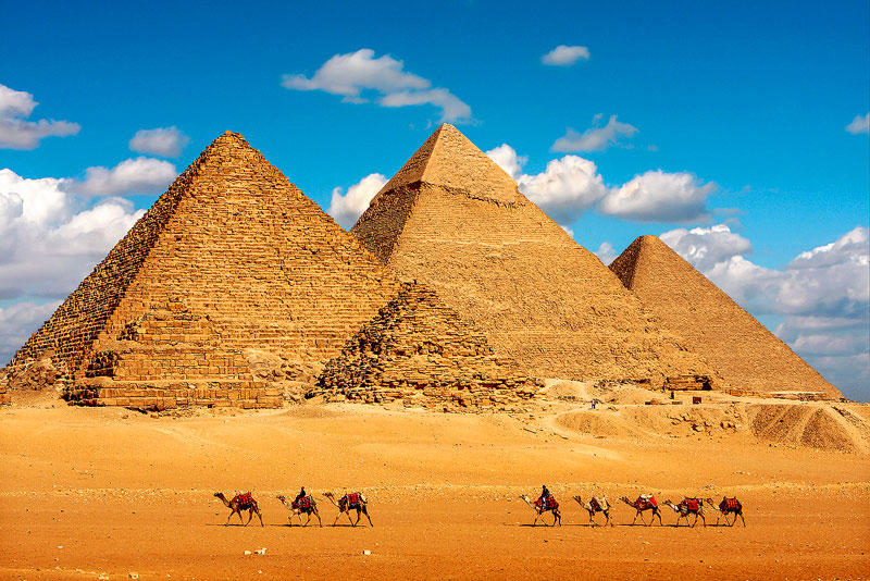 See the Great Pyramids of Giza on your Egypt & Nile River Cruise with NWAS