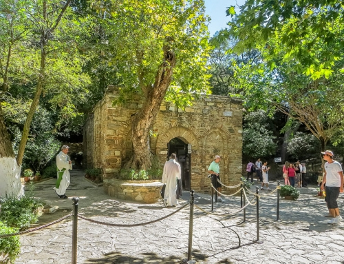 Visiting the House of the Virgin Mary Near Ephesus