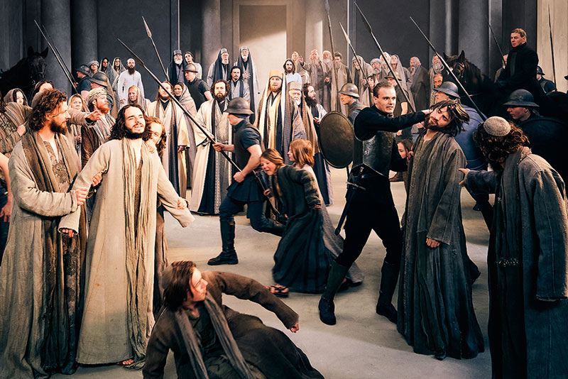 Jesus in the temple - Passion Play of Oberammergau 2022