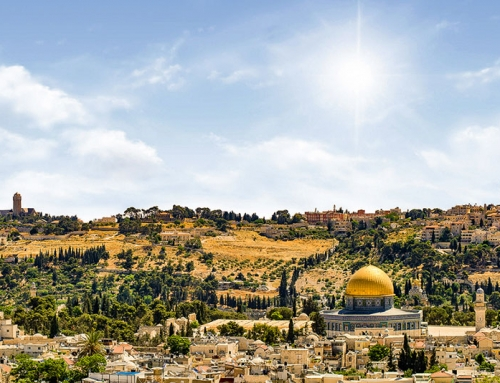 The Holy Land: Pilgrims Are Anxious to Return