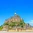 Mont Saint-Michel abbey and monetery attract visitors and pilgrims from all over the world