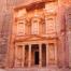 The magificent Treasury at Petra, Jordan