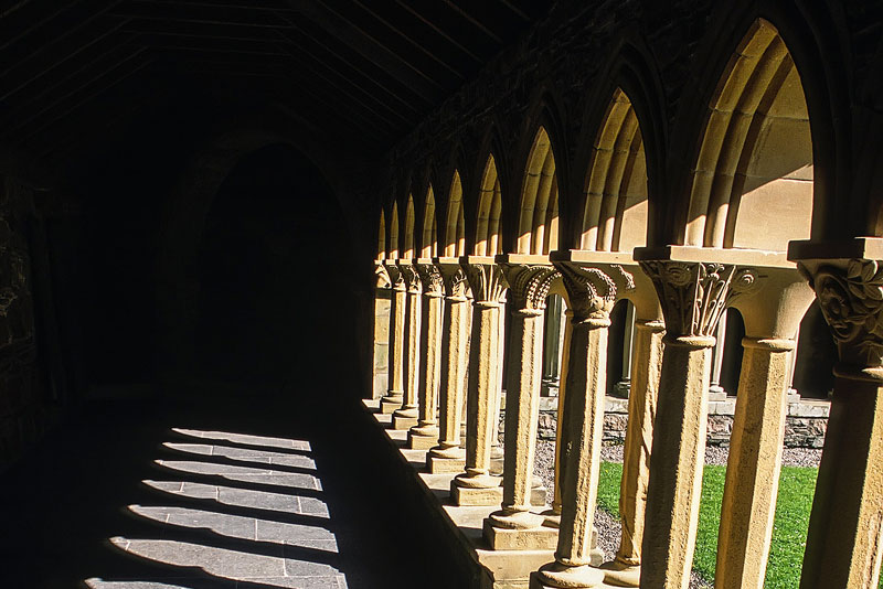The Benedictine Abbey on the Isle of Iona