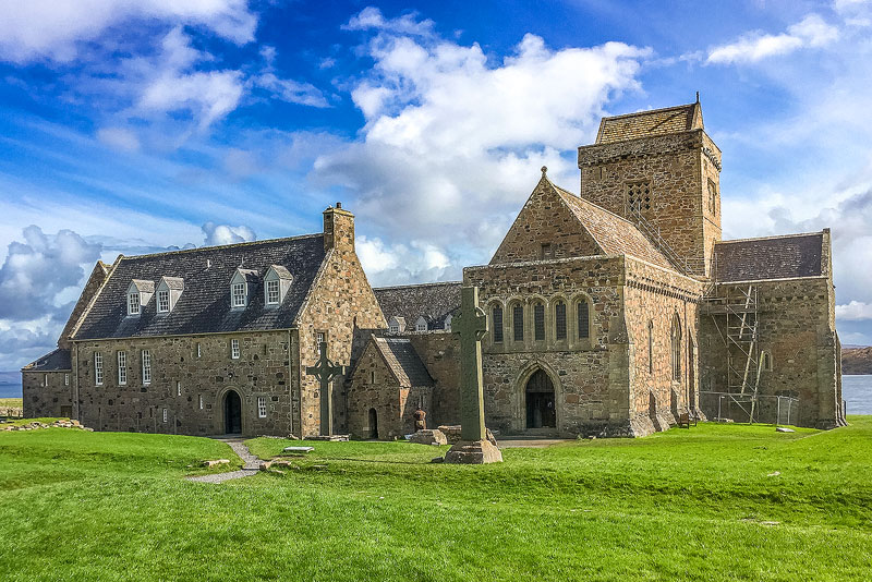 The Abbey on the Isle of Iona - St. Columba pilgrimage