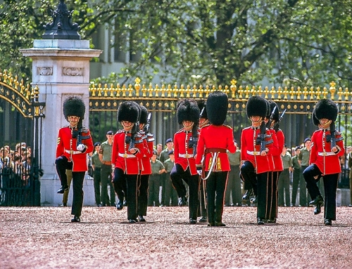 See the Changing the Guard at Buckingham Palace in London