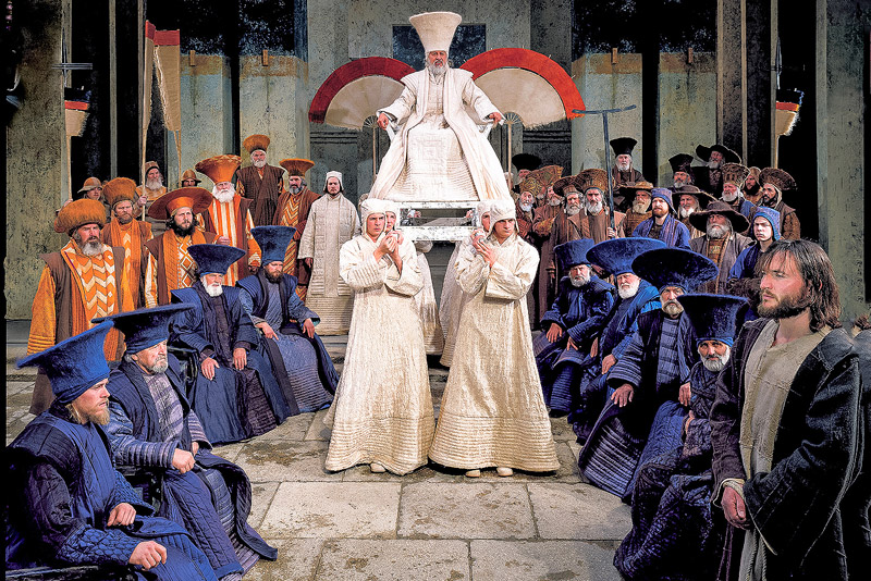 The Passion Play of Oberammergau is a spectavle not to be missed